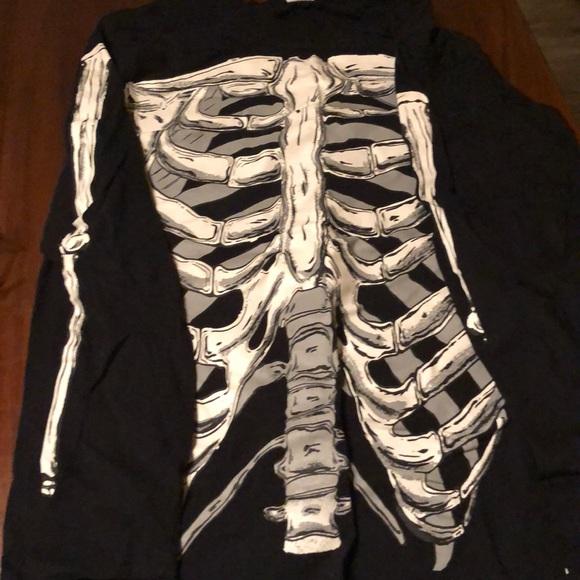 Tops - Skeleton long sleeve top
